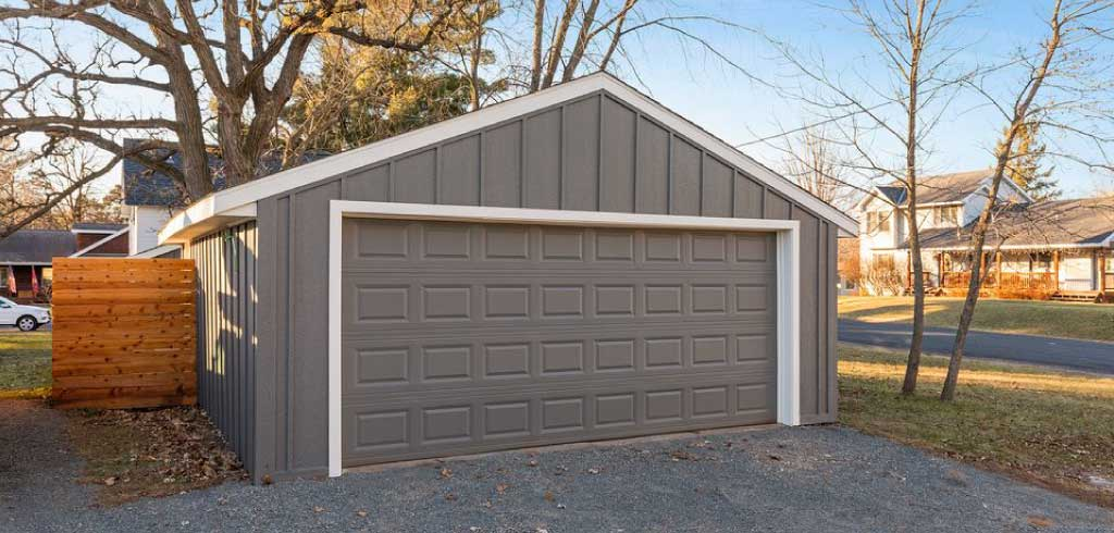 Bayport MN Garage Siding